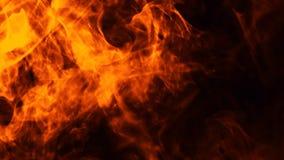 Struttura del fuoco dell'ustione Fiamme su fondo nero isolato Struttura per l'insegna, aletta di filatoio, carta immagini stock libere da diritti