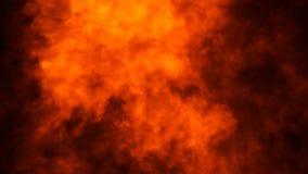 Struttura del fuoco dell'ustione Fiamme su fondo nero isolato Struttura per l'insegna, aletta di filatoio, carta immagine stock