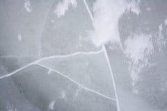 Struttura del ghiaccio. Fotografie Stock Libere da Diritti