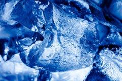 Struttura del ghiaccio Immagini Stock
