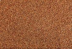 Struttura del grano saraceno, grano del grano saraceno Fotografia Stock