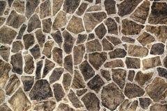 Struttura del lavoro in pietra, fondo astratto della parete di pietra o pavimentazione Fotografia Stock