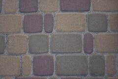 Struttura del marciapiede o della parete di pietra fotografia stock libera da diritti