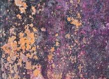 Struttura del metallo arrugginita lerciume e metallo ossidato fotografia stock libera da diritti