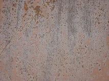 Struttura del metallo con i graffi e le crepe immagini stock