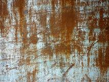Struttura del metallo con i graffi e le crepe fotografia stock