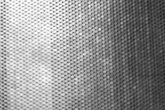 Struttura del metallo con il modello del cerchio immagine stock