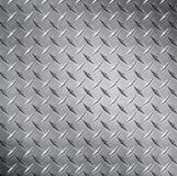 Struttura del metallo del diamante Immagine Stock