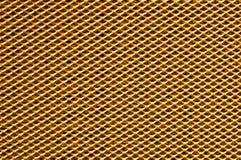 Struttura del metallo dell'oro Fotografie Stock