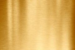 Struttura del metallo dell'oro immagine stock