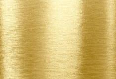 Struttura del metallo dell'oro fotografia stock