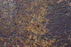 Struttura del metallo della ruggine Fotografia Stock