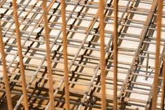 Struttura del metallo di rinforzo Fotografia Stock