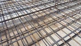 Struttura del metallo di rinforzo Immagine Stock Libera da Diritti