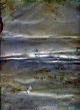 Struttura del metallo del fondo di lerciume fotografia stock libera da diritti