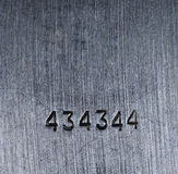 Struttura del metallo, orizzontale e mattonelle verticali Immagini Stock