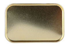 Struttura del metallo su fondo bianco Fotografia Stock Libera da Diritti