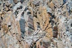 Struttura del minerale di ferro Fotografie Stock