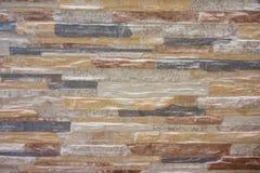 Struttura del modello della parete di pietra delle mattonelle Immagine Stock