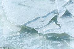 struttura del modello del ghiaccio immagine stock