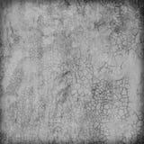 Struttura del muro di cemento lucidato grigio con i graffi per le sedere Fotografia Stock Libera da Diritti