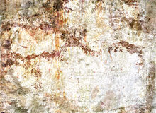 Struttura del muro di cemento rovinata macchiata Fotografie Stock Libere da Diritti