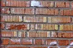 Struttura del muro di mattoni del garage Fotografie Stock