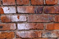 Struttura del muro di mattoni del garage Fotografie Stock Libere da Diritti