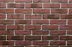 Struttura del muro di mattoni rosso Fotografie Stock