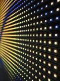 Struttura del pannello dello schermo di RGB LED Immagine Stock