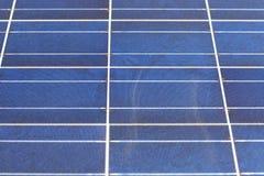 Struttura del pannello solare Fotografie Stock