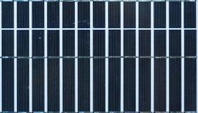 Struttura del pannello solare Fotografie Stock Libere da Diritti