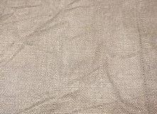 Struttura del panno sgualcito, fondo Fotografia Stock