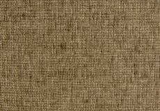 Struttura del panno tessuto grezzo, primo piano fotografie stock