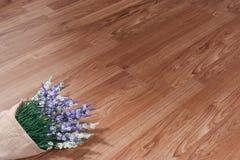 Struttura del pavimento di legno Fotografia Stock Libera da Diritti