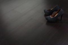 Struttura del pavimento di legno Fotografie Stock Libere da Diritti