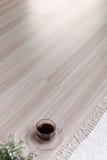 Struttura del pavimento di legno con spazio vuoto immagini stock libere da diritti