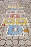 Struttura del pavimento nella scuola Immagini Stock Libere da Diritti
