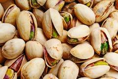 Struttura del pistacchio Noci Pistacchi freschi verdi come struttura Roasted ha salato lo studio delizioso sano dell'alimento dei fotografie stock libere da diritti
