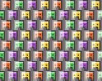 Struttura del pixel Immagini Stock Libere da Diritti