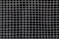 Struttura del plaid del tessuto fotografie stock
