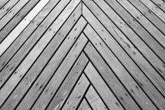 Struttura del ponticello di legno Fotografie Stock