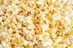 Struttura del popcorn Fotografie Stock