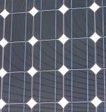 Struttura del primo piano del comitato solare, strumentazione industriale, Fotografie Stock