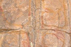 Struttura del primo piano della roccia del granito Fotografia Stock Libera da Diritti