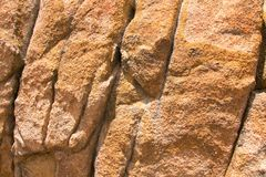 Struttura del primo piano della roccia del granito Immagine Stock