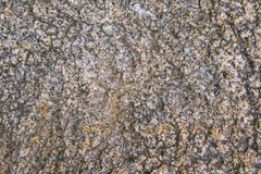 Struttura del primo piano della roccia del granito Immagini Stock Libere da Diritti