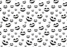Struttura del quadro televisivo per Halloween che consiste degli elementi di festa Illustrazione di Stock