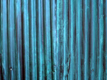 Struttura del recinto dello zinco Fotografie Stock