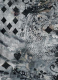 Struttura del reticolo del tessuto Immagine Stock